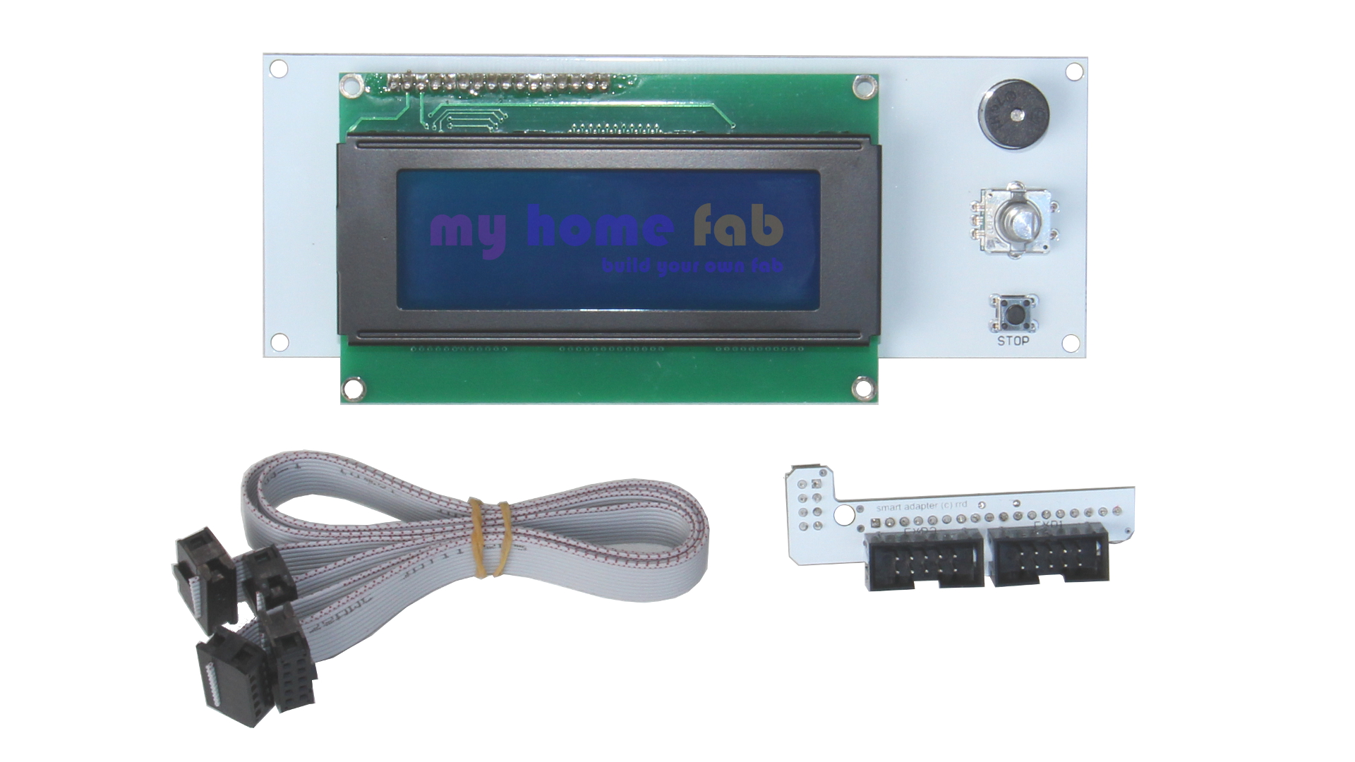 Lcd Smart Controller Mit Verkabelung My Home Fab Wiring Your Preview With