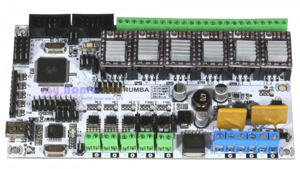 RepRap RUMBA Board & 6x DRV8825 & Verkabelung